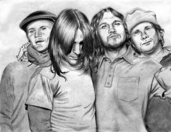 Red Hot Chili Peppers par raechel